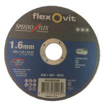 Vágókorong 125x1.6x22.2 SPEEDO INOX
