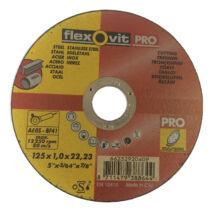Vágókorong 125x1x22,2 FLEX-PRO INOX