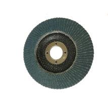 Lamellás csiszolótányér 125x22 Z120 INOX Flexmann