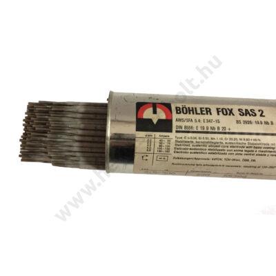Elektróda BÖHLER FOX SAS2A    2.5 mm