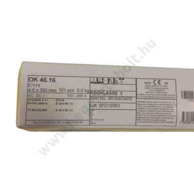 Elektróda OK 46.16 4.0 mm