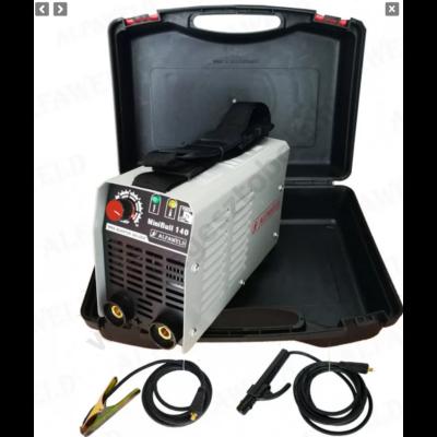 Hegesztőgép inverter MiniBull MMA140 kofferes Alfaweld